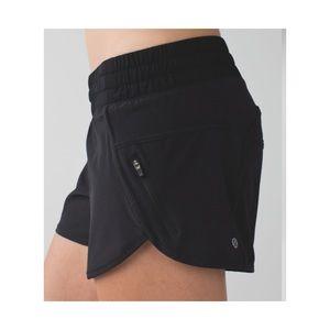 Lululemon tracker running shorts black 6